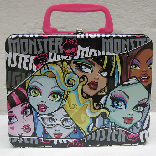 Lonchera metalica Monster High