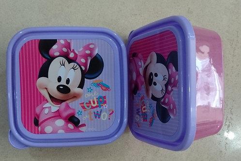 Sandwichera Contenedor Minnie Mouse