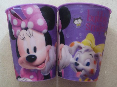 Vaso lenticular efecto 3D Minnie Mouse