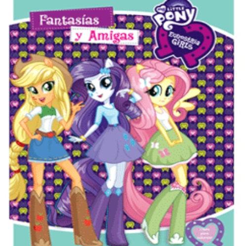 10 Libros para colorear Equestria Girls