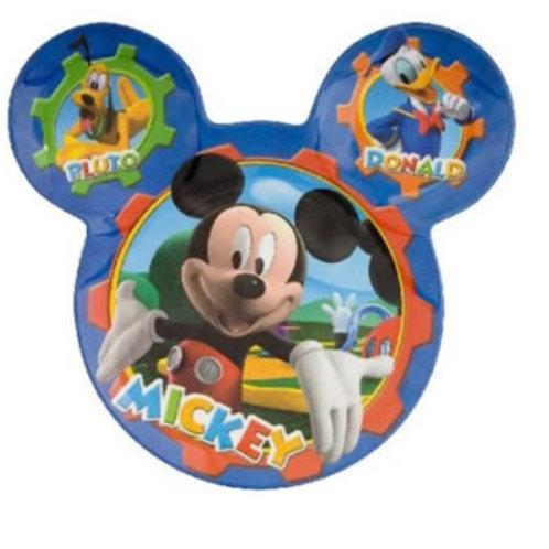 Plato Melamina Mickey Mouse con orejas