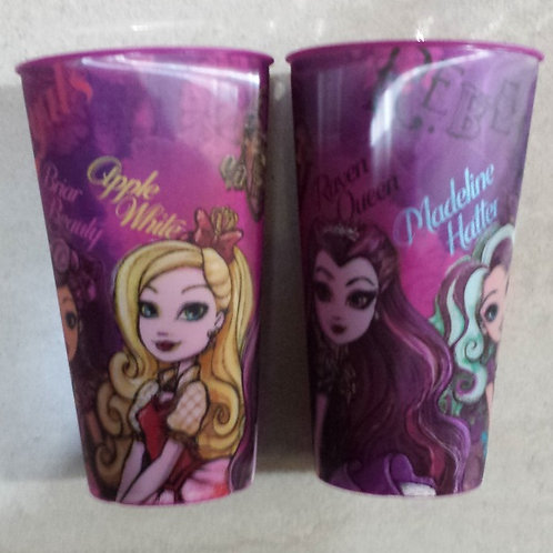 Vaso lenticular efecto 3D  Ever After High