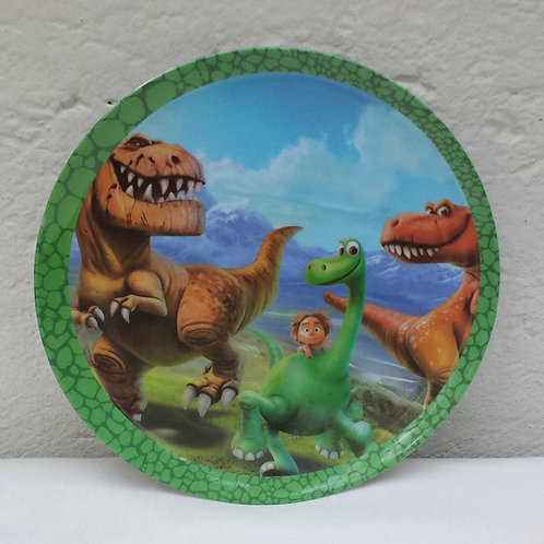 Plato Melamina un gran dinosaurio