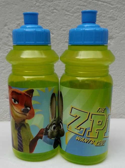 Botella Deportiva Zootopia