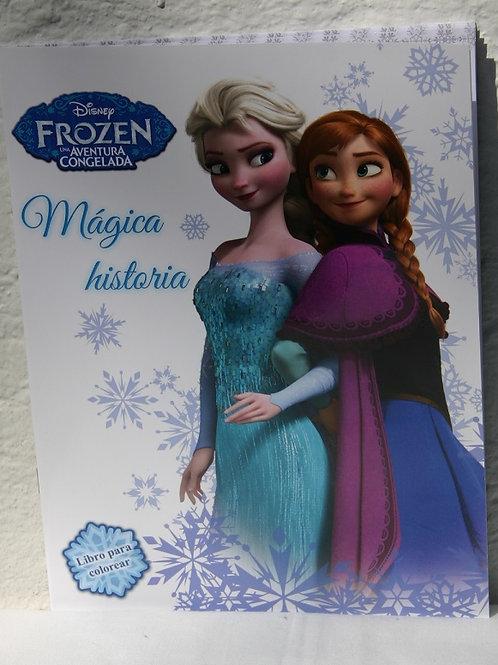 10 Libros para colorear Frozen