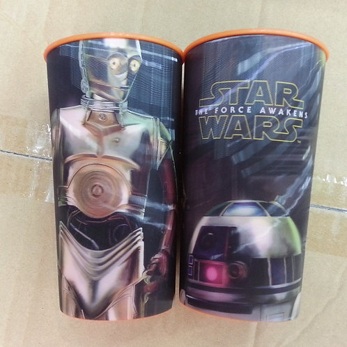 Vaso lenticular efecto 3D  Star Wars