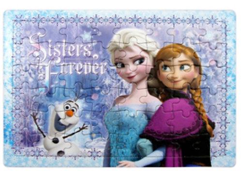 Rompecabezas Frozen mod 34