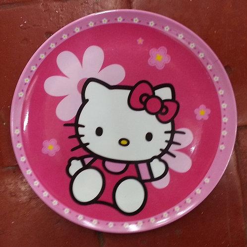 Plato Melamina Hello Kitty