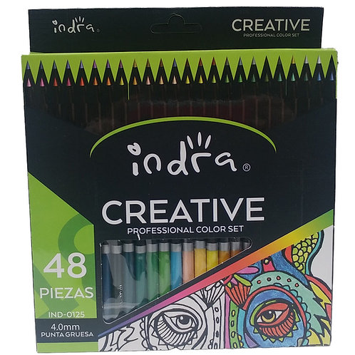 Colores Profesionales 48 Lapices De Colores Indra Creative