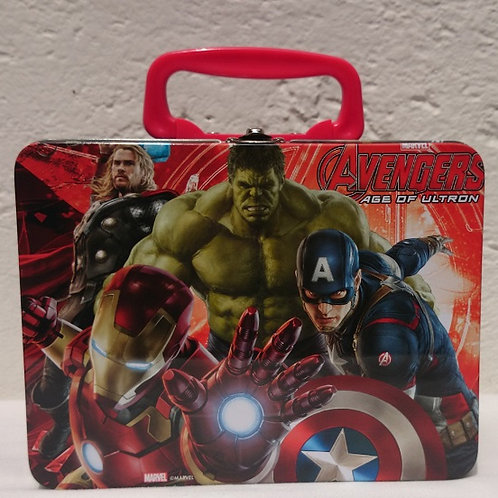 Lonchera metalica Avengers