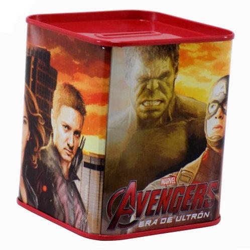 Alcancia métalica Avengers