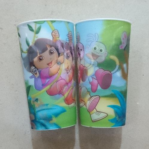Vaso lenticular efecto 3D  Dora la exploradora