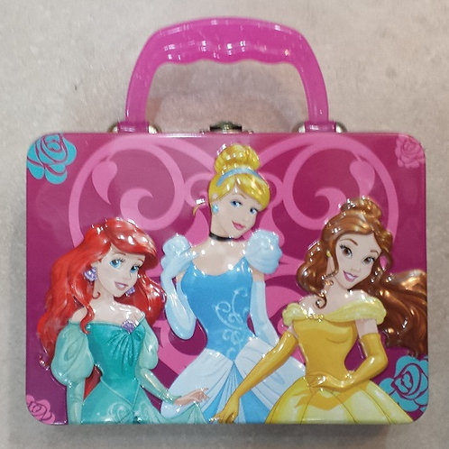 Mini  Lonchera metalica Princesas Disney