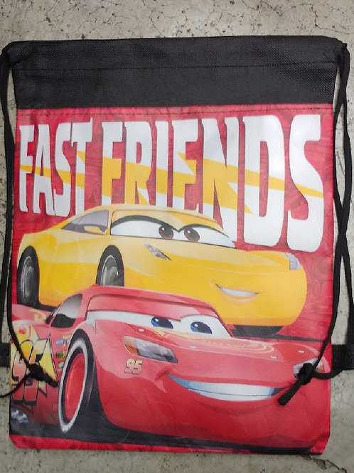 Morral Dulcero Grande Cars Fast Friends