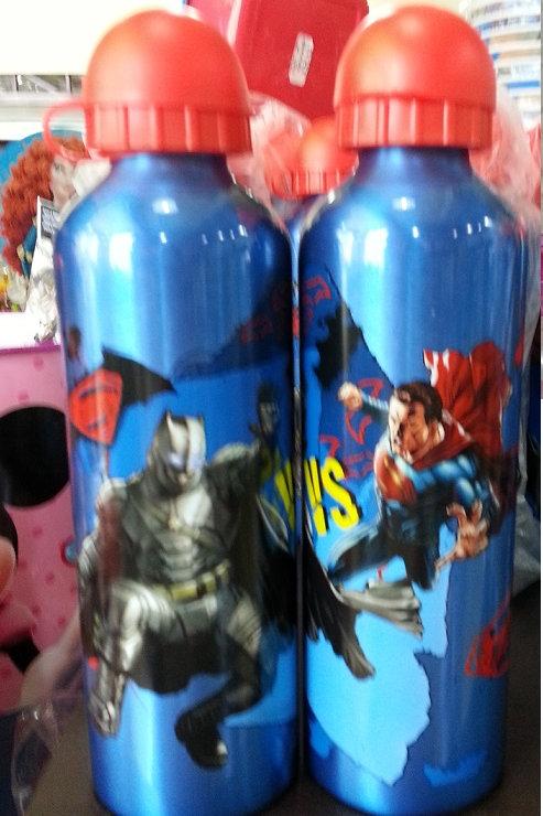 Botella Metalica Batman Vs Superman