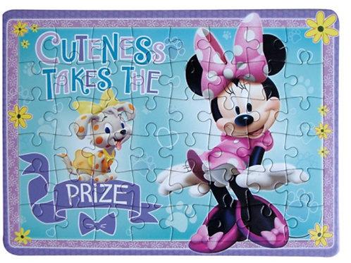Rompecabezas Minnie Mouse
