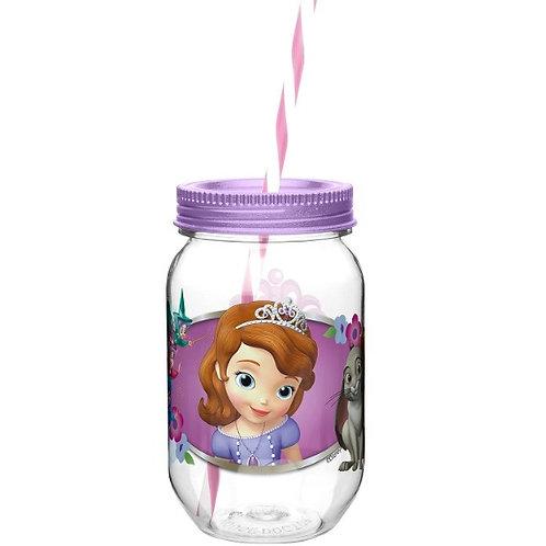 Vaso mason jar de Princesa Sofia