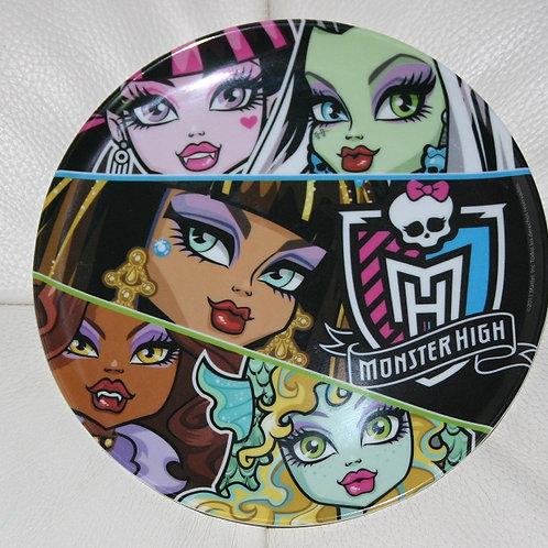 Plato Melamina Monster High