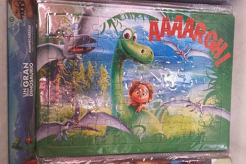 Rompecabezas Un gran dinosaurio