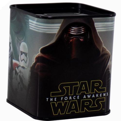 Alcancia métalica Star Wars