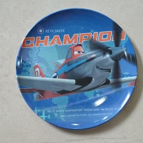 Plato Melamina Aviones