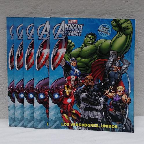 10 Libros para colorear Avengers