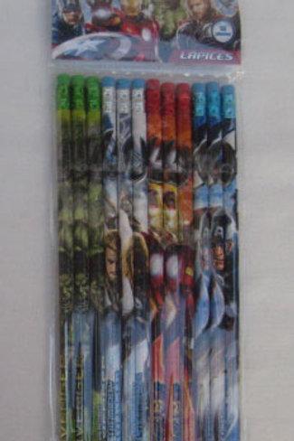 Lapices decorados Avengers