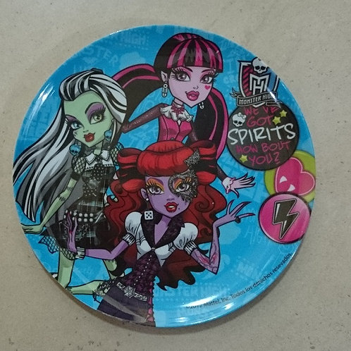 Plato Melamina Monster High