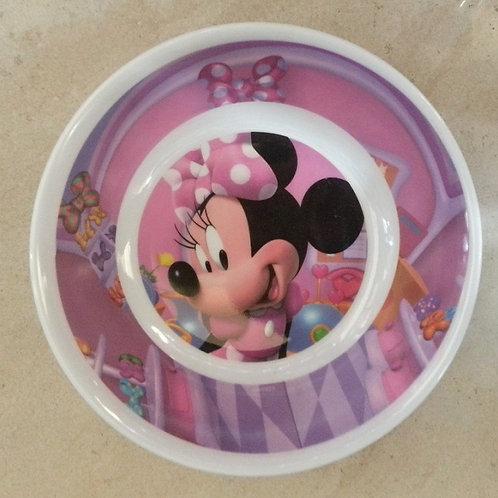 Tazon Melamina Minnie Mouse