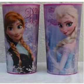 Vaso lenticular efecto 3D Frozen