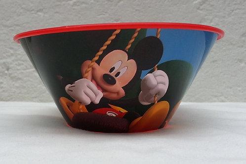 Tazon plastico con popote Mickey Mouse