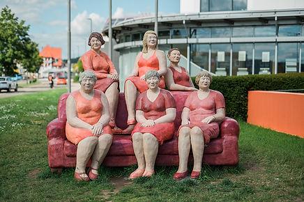 Das rote Sofa Alltagsmenschen Christel & Laura Lechner