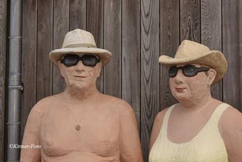 Alltagsmenschen amerikanisches Paar