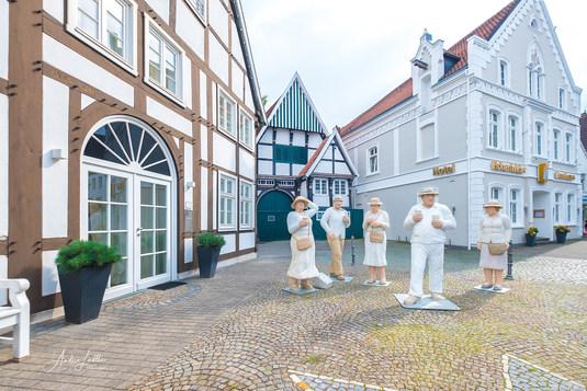 Die weiße Tanzgesellschaft in Wiedenbrück