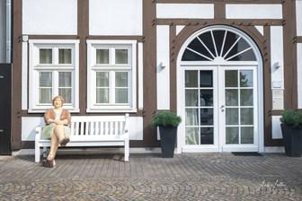 Die lesende Frau. Alltagsmenschen in Wiedenbrück