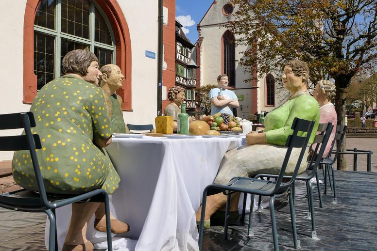 Sommertafel in Mosbach
