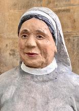 Betonfiguren Alltagsmenschen - Nonne