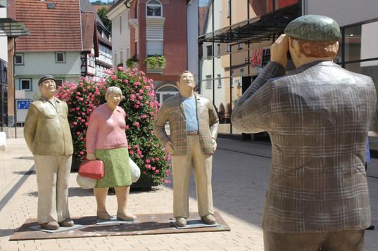 Der Fotograf mit Alltagsmenschen in Mosbach