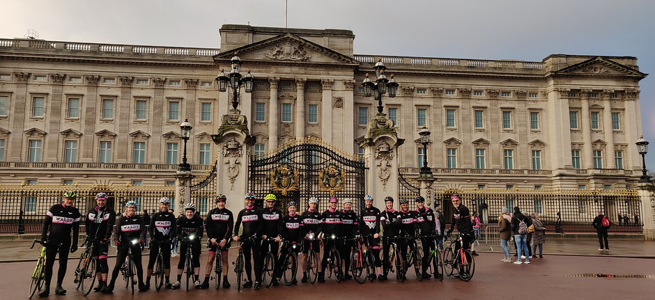 Waldy Wheelers Buckingham Palace