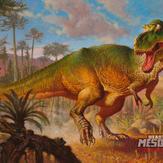 Tyrannosaurus Rex Dino-Riders (1/18)