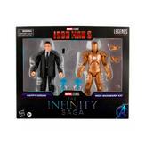 Happy Hogan and Iron Man Mark XXI
