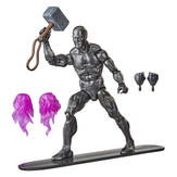 Silver Surfer with Mjolnir