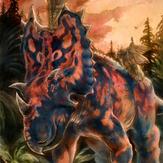 1/18th Utahceratops gettyi
