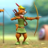 Robin Hood with Stork Costume