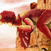Velociraptor osmolskae (red)