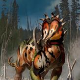 1/18th Sinoceratops zhuchengensis