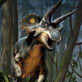 1/18th Triceratops horridus (sub-adult)