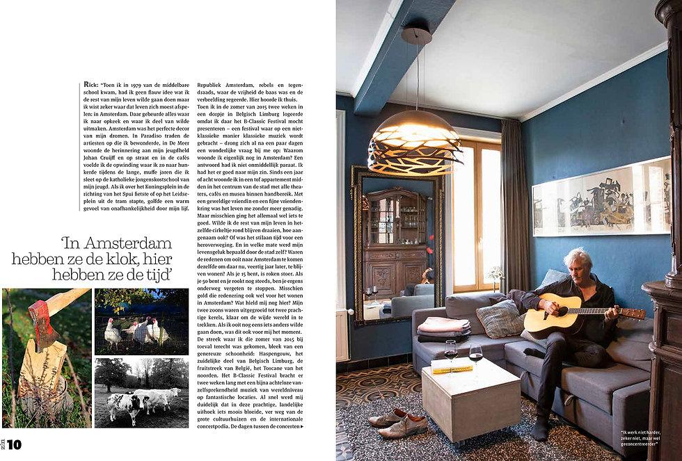 Zin Magazine - Rick en Maartje-pagina 2-