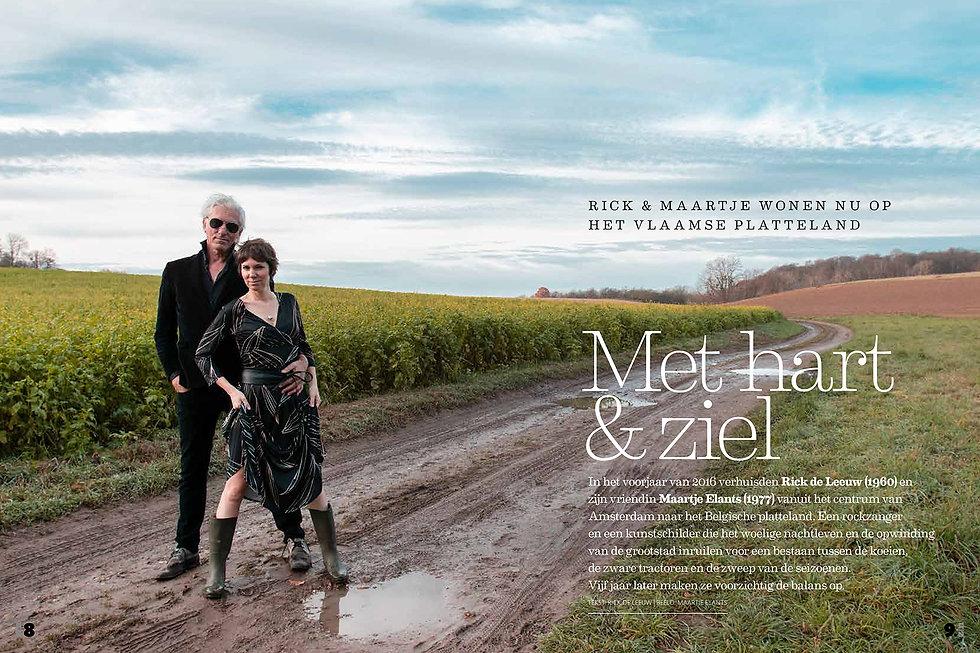 Zin Magazine - Rick en Maartje-pagina 1-
