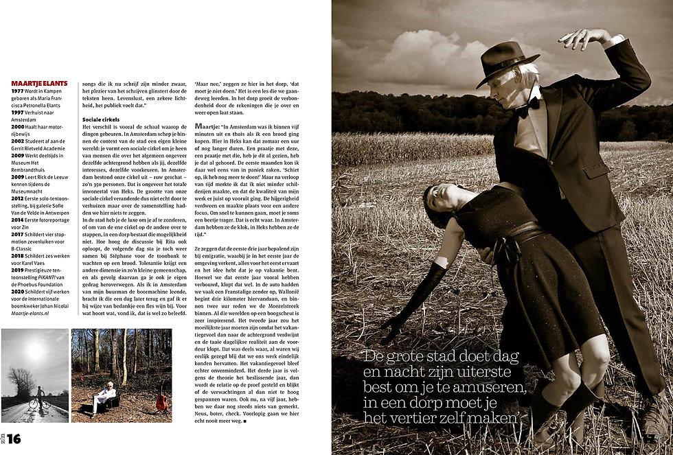 Zin Magazine - Rick en Maartje-pagina 5-